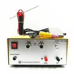 80A Pulse Spot di Saldatura a mano held pulse spot saldatore macchina di saldatura a punti di saldatura macchina di oro e gioielli in argento di elaborazione