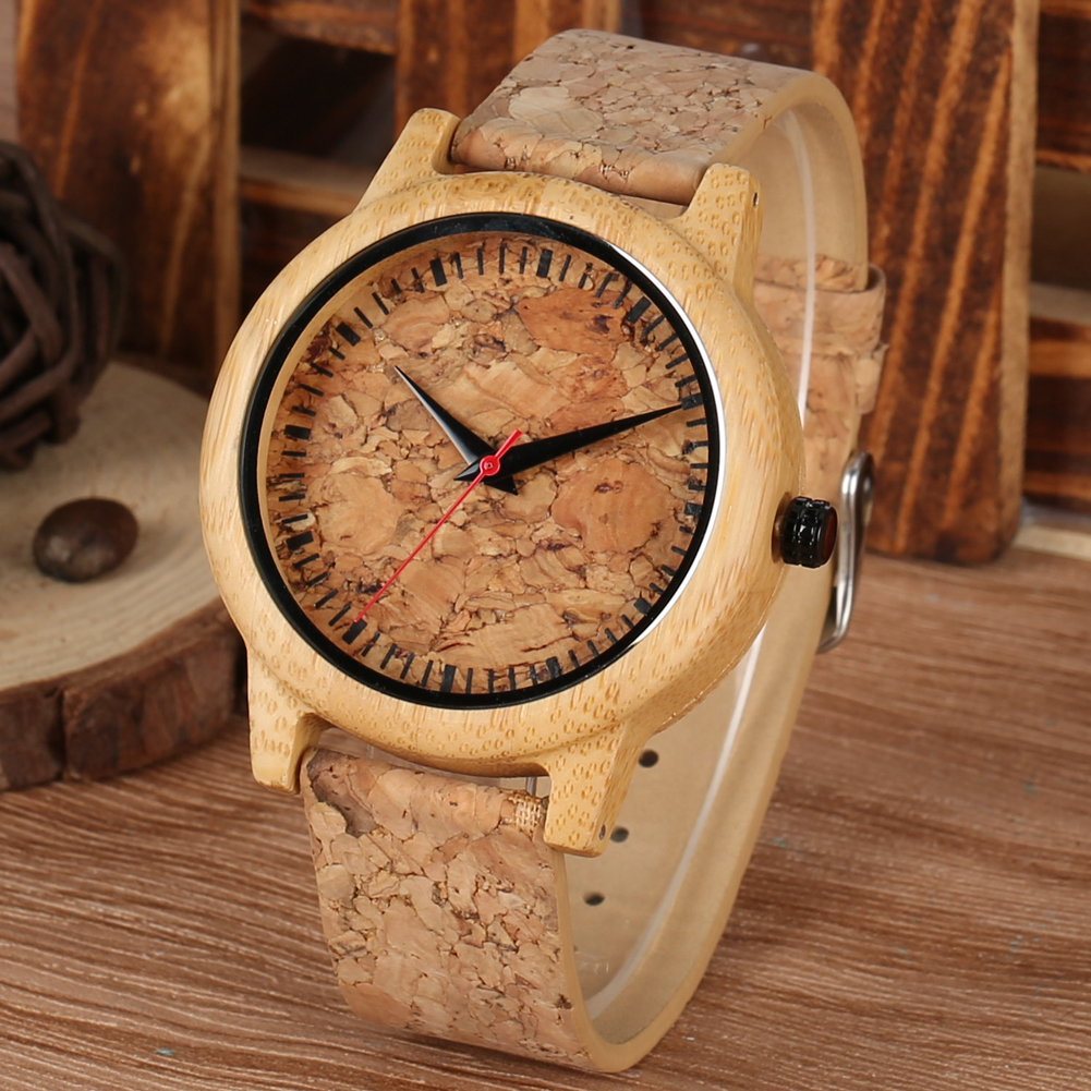 Wooden Watches For Lovers Couple Men Watch Women Clock Reloj Hombre Fashion Brown Leather Strap Hours Top Souvenir Gifts