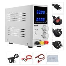 Fuente de alimentación de Banco de CC de 30V 10A, regulador de voltaje ajustable Variable, pantalla LED K3010D Lab, fuente de alimentación de laboratorio, nuevo