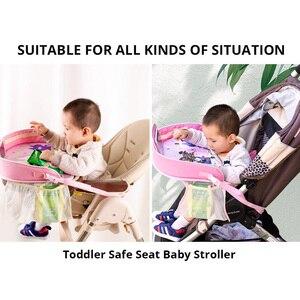 Image 4 - Водонепроницаемый настольный поднос для сидений автомобиля, детские игрушки, держатель для младенцев, детское обеденное сиденье для автомобиля, стол с держателем для телефона