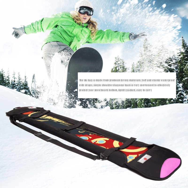 Snowboard Storage Bag Easy Carrying Scratch-Resistant Protective Winter Outdoor Sport Cycling Ski Monoboard Boad Accessory Case