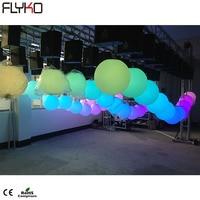 Led kinetic ball led kinetic lighting system full color led disco ball