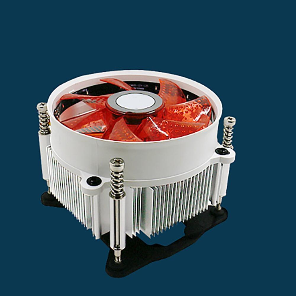 Haute qualité 120mm PC ventilateur de tour d'ordinateur dissipateur thermique refroidisseur 16dB Ultra silencieux 33 LEDs refroidissement avec caoutchouc Anti-Vibration ventilateur 12CM