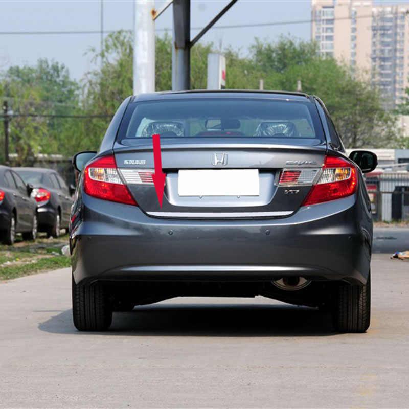 Lsrtw2017 الفولاذ المقاوم للصدأ سيارة الذيل الباب الزخارف decortion ل honda سيفيك 2011 2012 2013 2014 2015 9th اكسسوارات التصميم