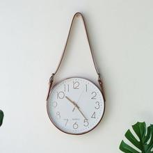 Reloj de pared grande en 3d Reloj de diseño moderno para niños nórdico Reloj de Cocina autoadhesivo clásico creativo a prueba de agua