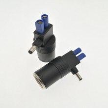 DC 5.5mm x 2.1mm męski na gniazdo zapalniczki samochodowej Mini XT60 CLA EC5 żeński Adapter złącza na urządzenie do uruchamiania awaryjnego samochodu dvr gps