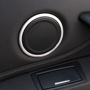 Передняя часть для BMW X1 F48 16-18 задняя кольцевой динамик накладка рамка Декор стикер автомобиля