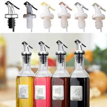 Minuman Keras Dispenser Nozzle Flip Top Minyak Cuka Anggur Botol Stopper Pourer(China)