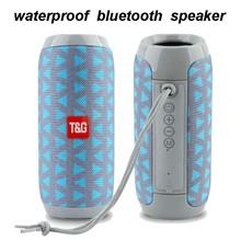 Enhance TWS Wireless Bluetooth 5.0 Speaker 20W 1200mAh Waterproof Portable Subwoofer 3D Surround Loudspeaker caixa de som