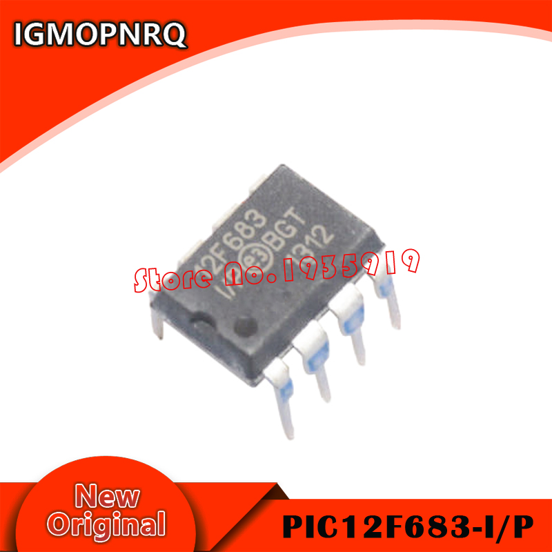 2PCS PIC12F683-I/P PIC12F683 12F683 DIP-8 New And Origianl