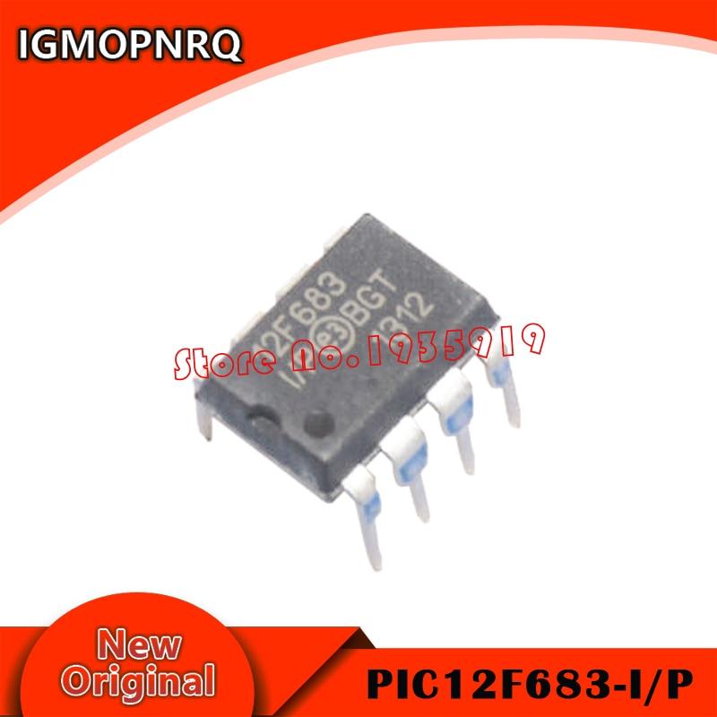 2PCS PIC12F683-I/P PIC12F683 12F683 DIP-8 New And Origianl