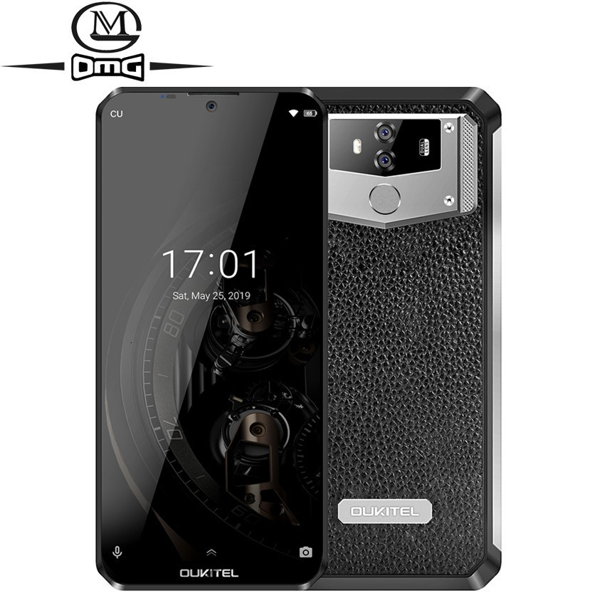 <font><b>OUKITEL</b></font> <font><b>K12</b></font> 6.3'' Water screen 6GB 64GB NFC 10000mAh android 9.0 mobile phone MT6765 Octa Core Quick Charge 16.0mp 4G smartphone image