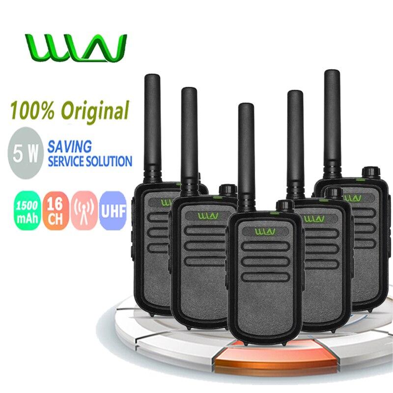 5 шт. 100% оригинал WLN KD-C10 рация Uhf 400-470 МГц радио Amador Hf трансивер Emisora Ham радио Hf трансивер Ricetras