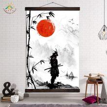 Arte da parede impressão poster decoração pintura em tela sala de estar moderna arte cópias decoração imagens japão samurai arte