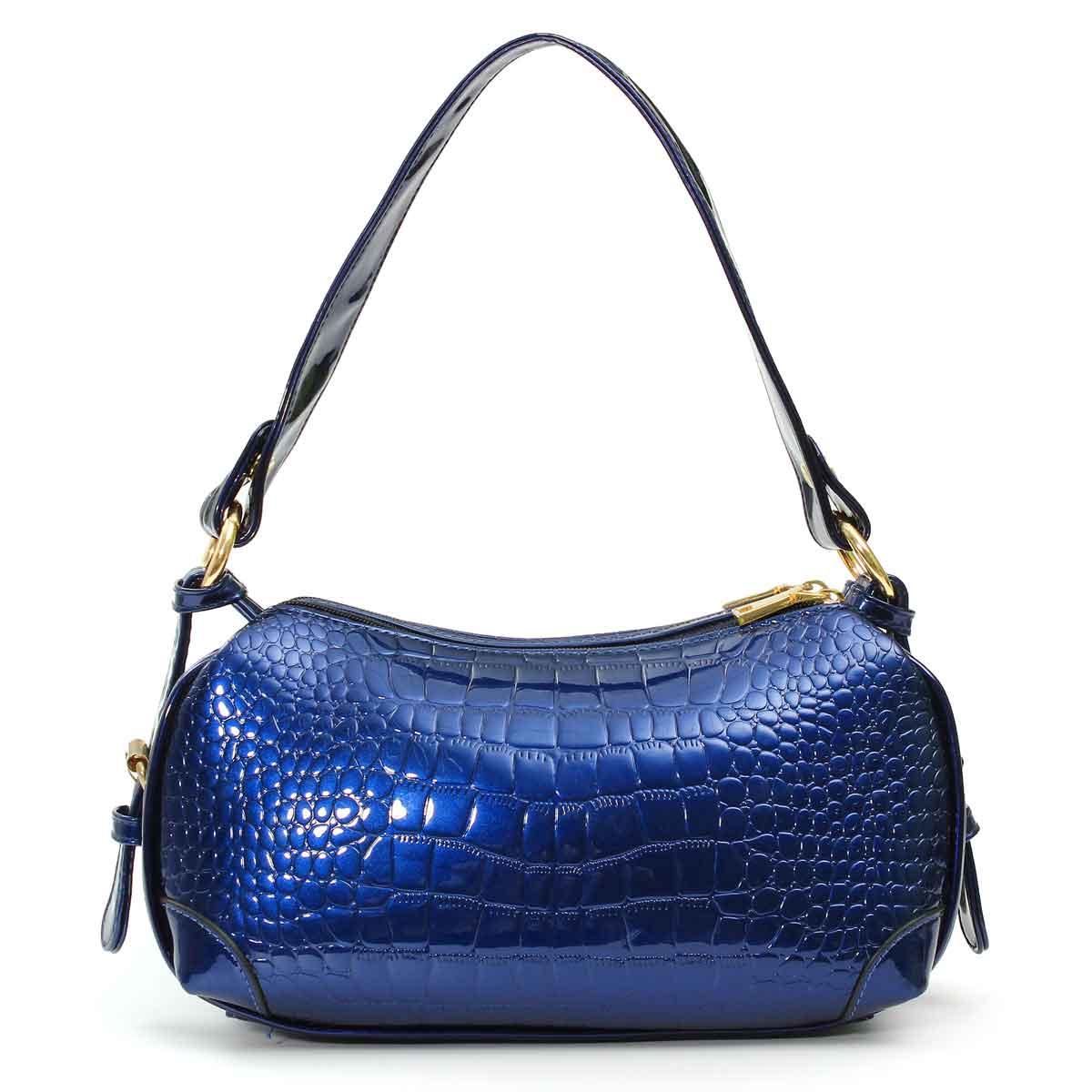 Luxury Alligator Baguette Bag For Women 2020 Retro PU Leather Women Shoulder Bag Mini Crocodile Bags Purse Handbags Bolsas
