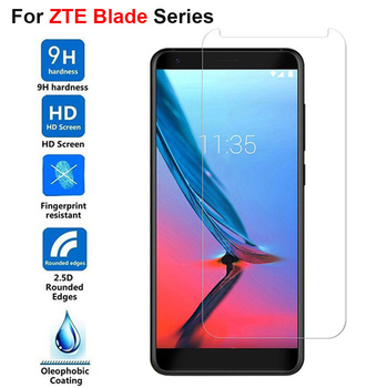 2.5D Tempered Glass For ZTE Blade V9 5.7 Inch Full 9H Cover Screen Protector Film For ZTE Blade V9 Vita 5.45 Inch image