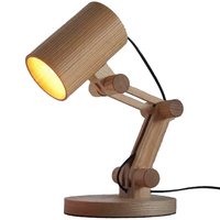Japanese Style Desk Led Lamp Solid Wooden Table Lamp Living Room Bedside Desk Light Reading Table Lamp Lighting Home Decor Eu Pl