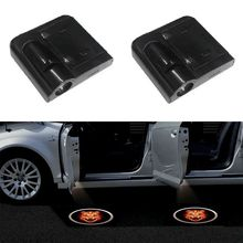 Wireless Car Door Led Welcome Laser Projector Logo Ghost Shadow Light 2PCS universal ForToyota Ford Volkswagen Mercedes-Benz