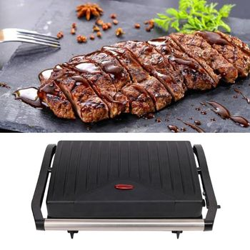 EU Plug Steak Maker Nonstick Electric Grill Smokeless Home Breakfast Making Machine Household Kitchen Cooking Appliances food mixers bosch mfq2210d home kitchen appliances processor machine equipment for the production of making cooking