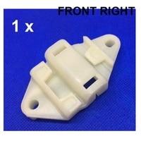 Slider plástico para peugeot 306 cabriolet janela regulador kit de reparação frente direita novo
