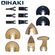 Поршневые пильные диски, алмазные дисковые Осциллирующие лезвия, циркулярные пильные диски для реноватора Einhell для шлифовального станка, режущий многофункциональный инструмент