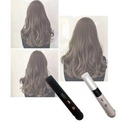 Mini kształt włosów lokówka z prostownicą Power Bank Styler dwustronnie szybkie nagrzewanie  typ A (ładowanie Usb 2400 Mah) null    -