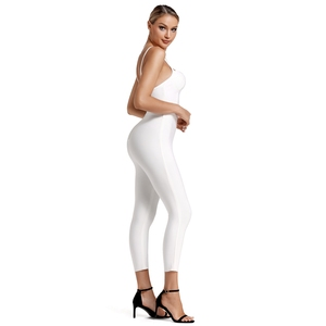 Image 3 - Deer Lady Deer Lady 2019 Bandage Jumpsuit Summer Women Strappy White Bandage Jumpsuit Bodycon One Piece Sexy Jumpsuit Clubwear