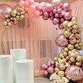 Золотой розовый пастельный воздушные шары-гирлянды Набор для арки ко Дню Святого Валентина свадьбы Юбилей День рождения украшения