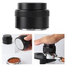 51/53/58mm 304 aço inoxidável café em pó espresso tamper imprensa martelo ferramenta de distribuição café barista fabricante
