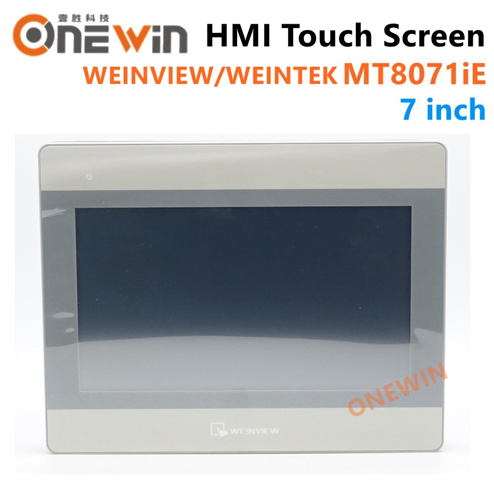 WEINVIEW/WEINTEK MT8071iE HMI Touch Screen 7 Inch TFT LCD USB Ethernet New Human Machine Interface Display Replace MT8070iH