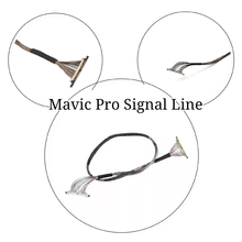 Used Mavic Pro Drone Camera Parts Accessories gimbal camera transmission line signal line cable for dji mavic pro Accessories genuine repair part dji mavic pro gimbal camera fpv hd 4k cam accessories lens for dji mavic pro gimbal camera 4k video rc drone