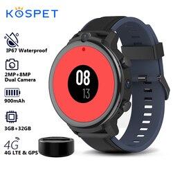 KOSPET POWER 2020 GPS Smartwatch z funkcją telefonu mężczyźni 3GB 32GB 1.6