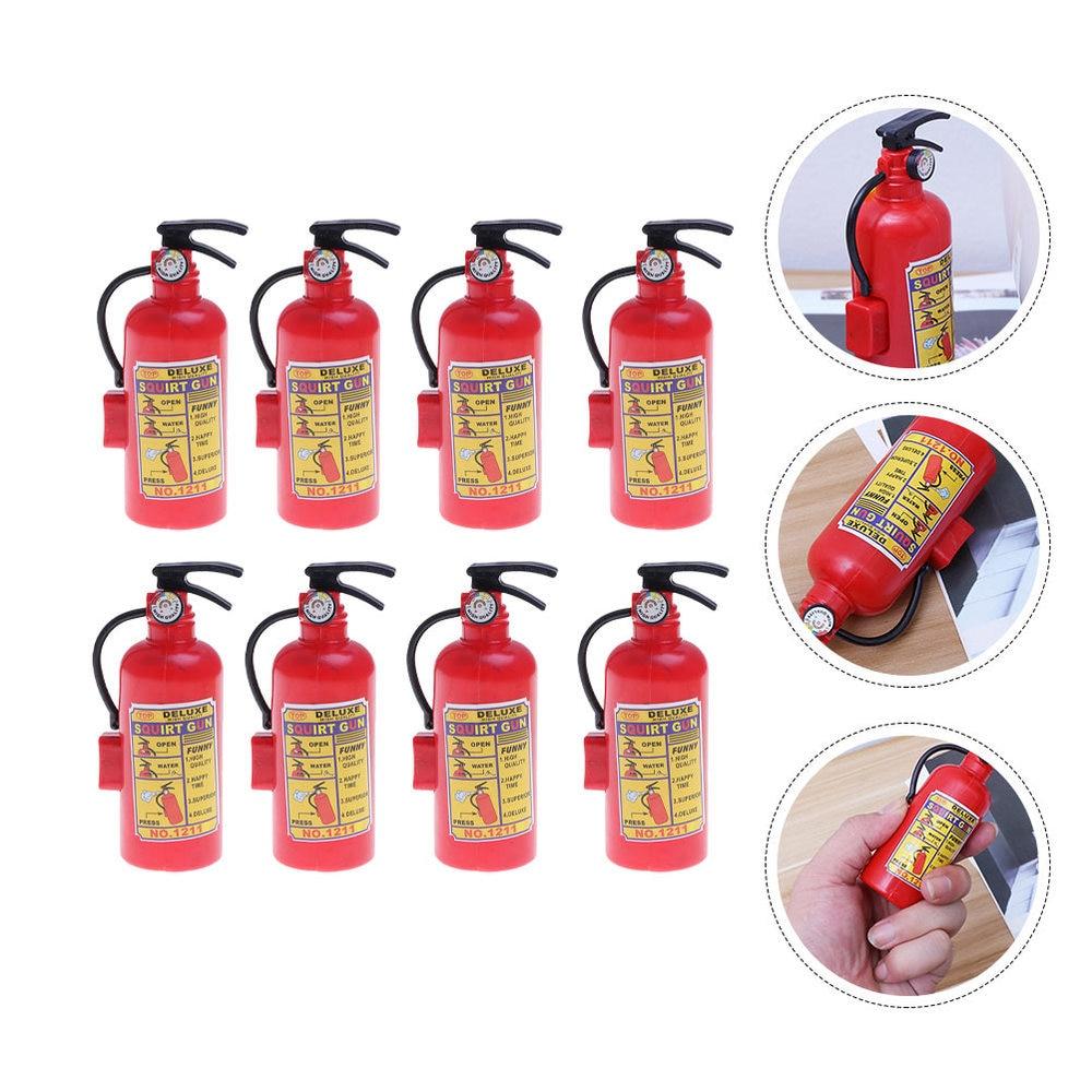 8 Pcs Children Simulation Fire Extinguisher Portable Squirter Water Guns