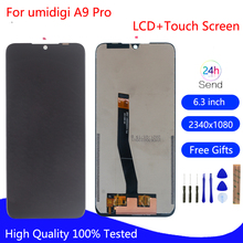 Original For UMI Umidigi A9 Pro LCD Display Touch Screen Digitizer For UMI Umidigi A9 Pro Display Phone Repair Parts