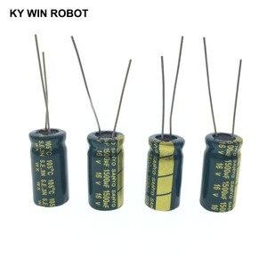 Image 5 - 10 قطعة مكثفات كهربائية 1500 فائق التوهج 16V 10x20 مللي متر 105C شعاعي عالية التردد مقاومة منخفضة مُكثَّف كهربائيًا