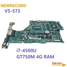 Laptop GPU Acer Aspire F-I7-4500u for V5-573/V5-573g/Dazrqmb18f0/.. 4G Full-Test NBMB611001