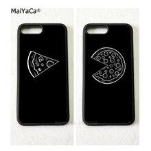 Мягкий чехол для мобильного телефона с надписью «best friends forever BFF love pizza», s для iPhone 5S, SE 6 6s plus 7 7plus 8plus X XR XS MAX, чехол
