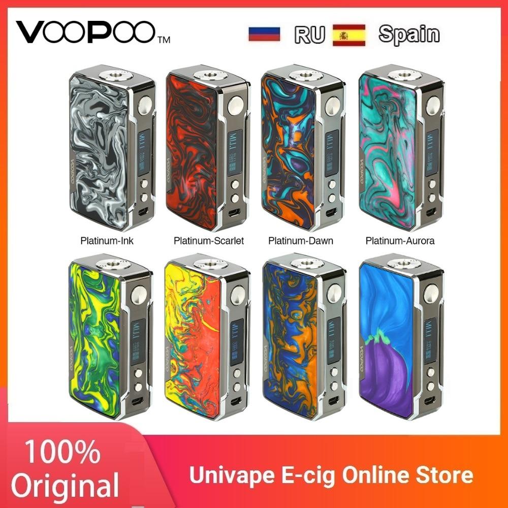 Hot Sale VOOPOO Drag 2 Platinum 177W TC Box MOD Power By 18650 Battery Vape Vaporizer Voopoo Mod Vs Gen Mod / Swag 2 / Drag 157W