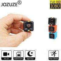 JOZUZE sq11 Mini cámara HD 1080P visión nocturna cámara de detección de movimiento DVR Micro de la cámara del deporte cámara de vídeo DV Ultra pequeño Cam SQ11