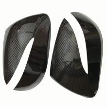 For Hyundai IX45 Santa Fe Side Door Rearview mirror covers caps (Carbon Look)