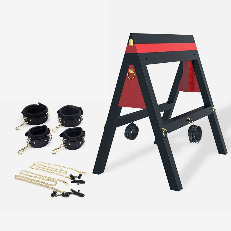 SM Donkey Sex Furniture Aid Stool Position Prop Erotic Toy Chair Game Dungeon Paly BDSM Game Sex Horse Chair