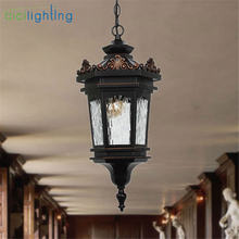 Традиционный Уличный потолочный светильник подвесной фонарь