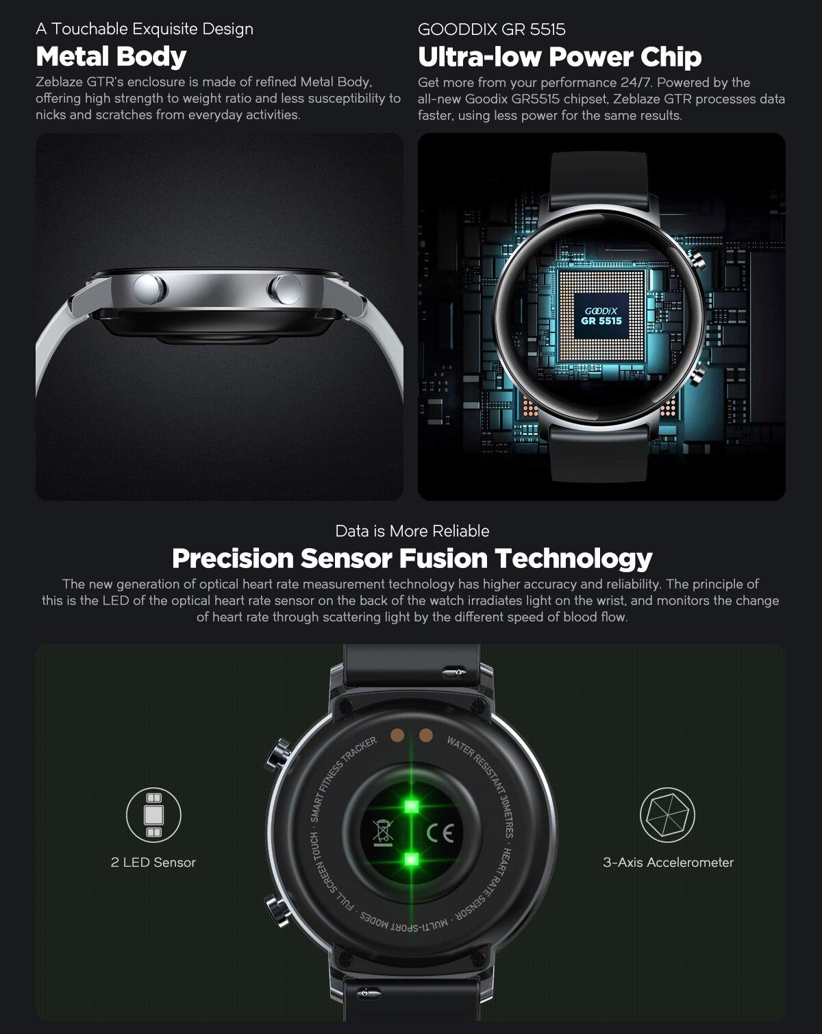 Zeblaze GTR Smartwatch 2