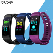 Smart Watch Fitness Bracelet Heart Rate Monitor IP67 Waterproof Color Screen Sport Tracker Watch For IOS Android PK Mi Band 2 3 hot selling fitness smart bracelet ip68 waterproof gps smart band heart rate monitor activity tracker watch pk mi band 3 for men