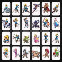 24 pièces coffret complet carte Amiibo pour la légende de Zelda souffle de la sauvage coffret complet