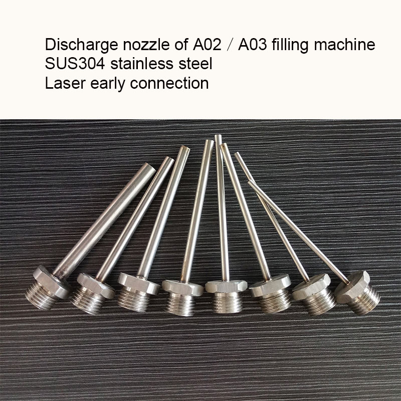 A02 A03 Filling Nozzle Fittings Manual Filling Machine Nozzle Filling Machine Nozzle Filling Machine Nozzle  Discharge Nozzle