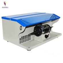 цена на Polishing motor with dust collector double head turbine regulation grinding machine jewelry polishing power tool 500-7000 rpm