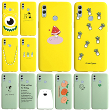 Candy colors patterns soft silicone case For huawe