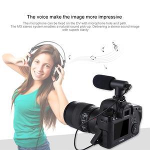 Image 5 - PULUZ 3.5mm אודיו סטריאו קולנוע קידוד מחדש צילום ראיון מיקרופון עבור Vlogging וידאו DSLR & DV עבור iphone, טלפונים חכמים
