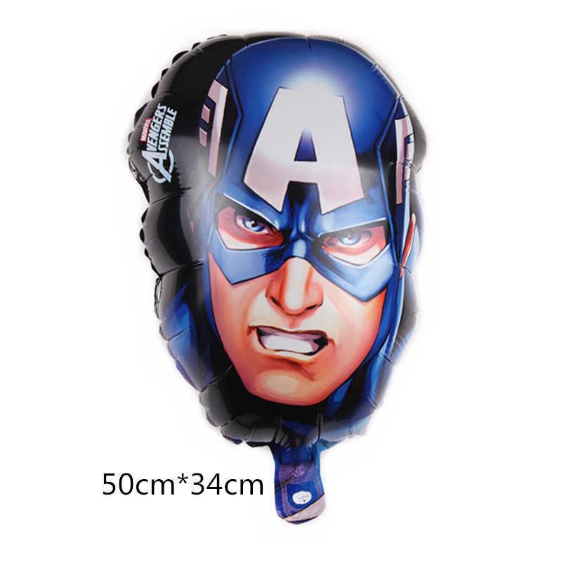 Ferro superman aniversário menino herói balões cabeça casamento vingadores hulk festa crianças brinquedos presente super américa decorações capitão